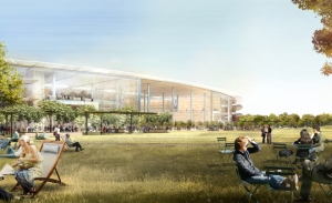Sketch of Apple's new HQ