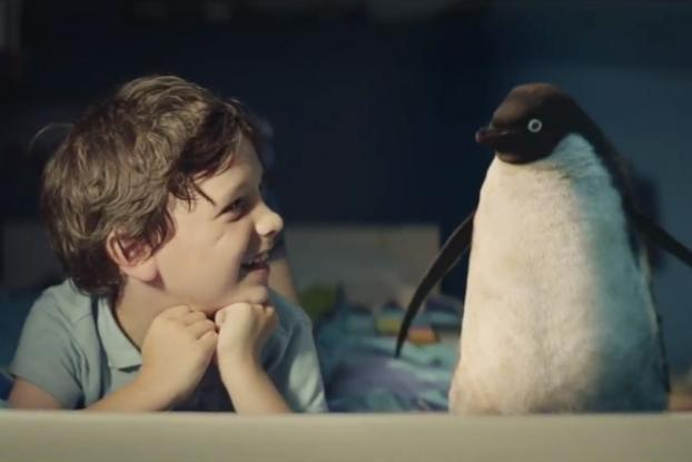 John Lewis' Christmas ad, a boy and his penguin
