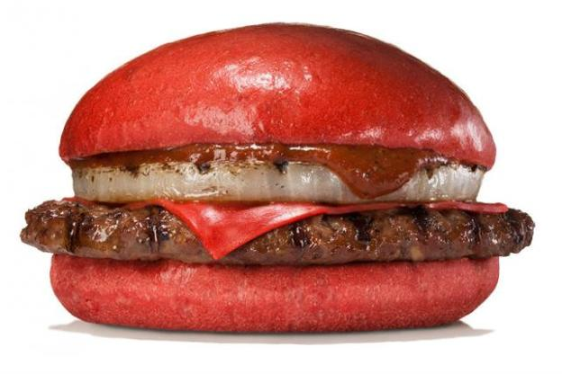 BK's Red Burger
