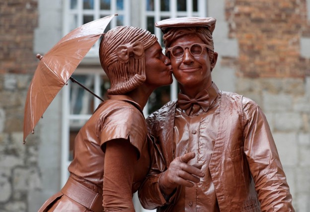 ChocolateCouple in Belgium