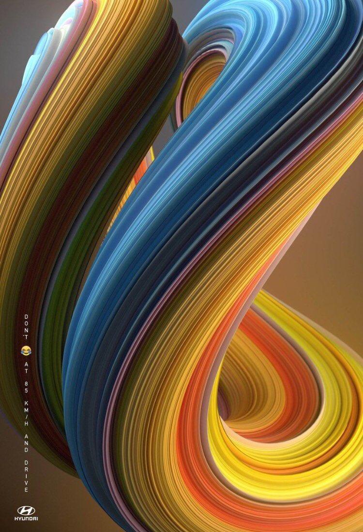 Color Swirl Hyundai Ad