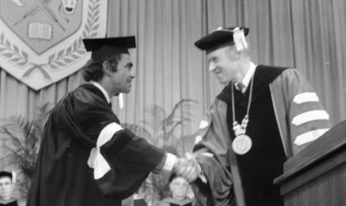 Rod Serling-Graduation